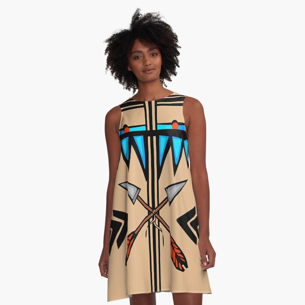 Native A-Line Dress