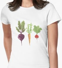 Vegetables Women's Fitted T-Shirt