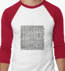 blah Men's Baseball ¾ T-Shirt