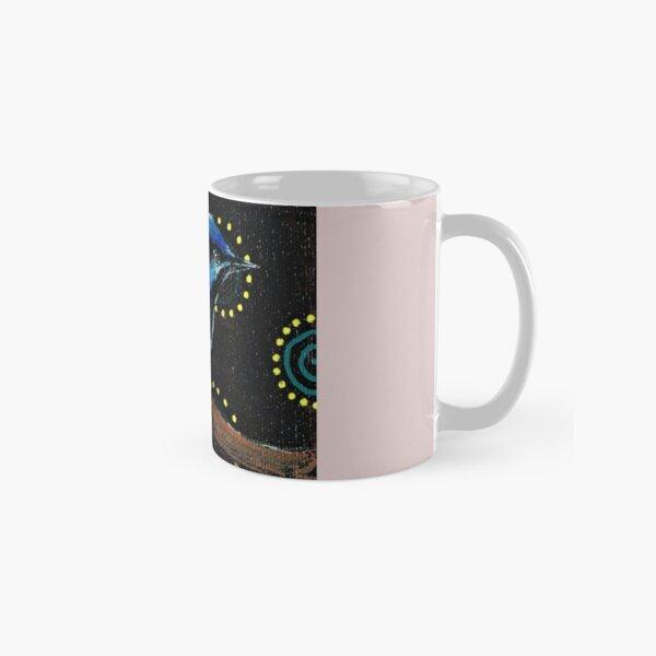 Happy Blue Wren  Classic Mug