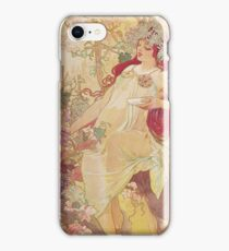 Alphonse Mucha - Automneautumn iPhone Case/Skin