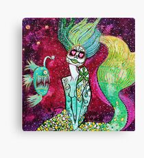 Siren Of The Sea Canvas Print
