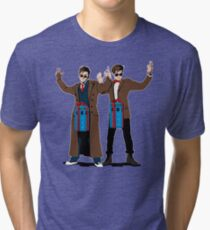 Doc In A Box: Bigger On The Inside Tri-blend T-Shirt