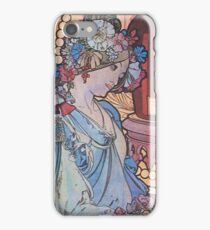 Alphonse Mucha - Benedictine iPhone Case/Skin