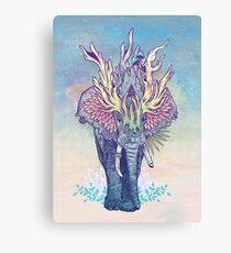Spirit Animal - Elephant Canvas Print