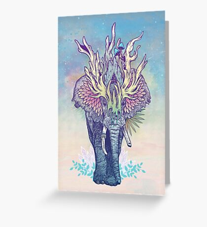 Spirit Animal - Elephant Greeting Card