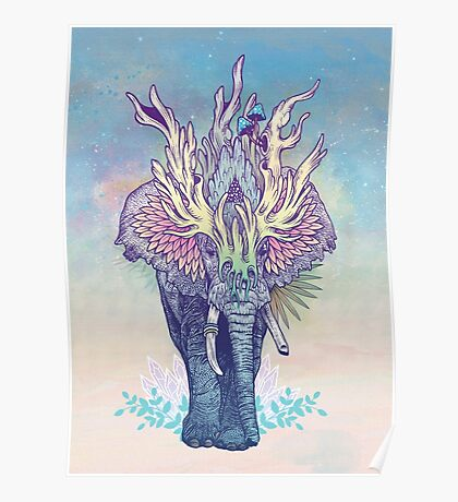 Spirit Animal - Elephant Poster