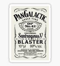 Pan Galactic Gargle Blaster - No. 42 [STONE] Sticker