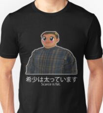 Scarce is fat - Anime edition   T-Shirt