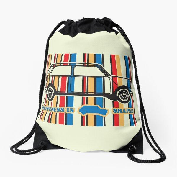 Happiness Is Mini shaped Drawstring Bag