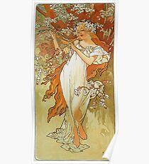 Alphonse Mucha - Spring 1896 Poster