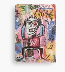 Untitled (Noise) Neo-Expressionism Canvas Print