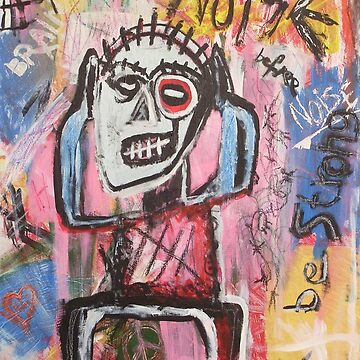Untitled (Noise) Neo-Expressionism by Bela-Manson