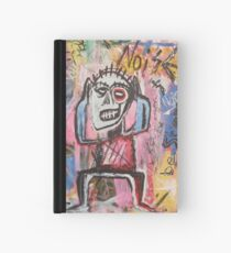 Untitled (Noise) Neo-Expressionism Hardcover Journal