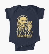 Tolstoy Is My Homeboy One Piece - Short Sleeve