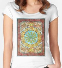 Alphonse Mucha - Documents  Women's Fitted Scoop T-Shirt