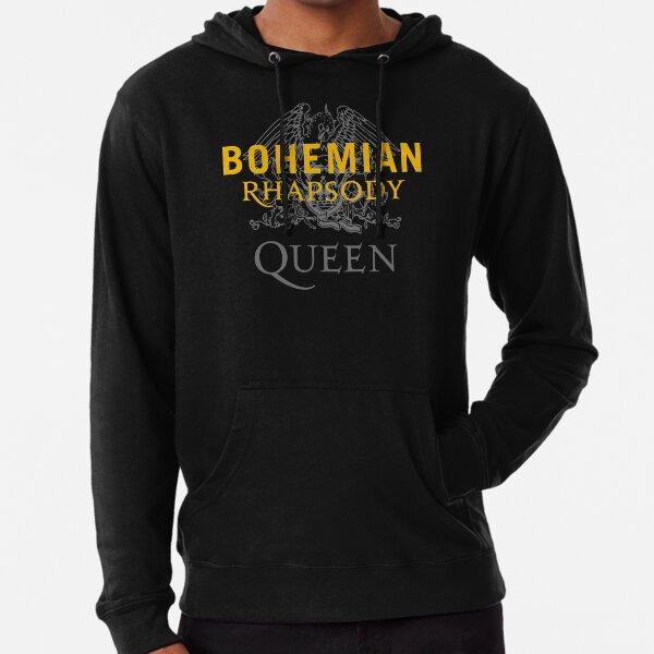 Queen Band Rhapsody Bohemian Royal  Lightweight Hoodie