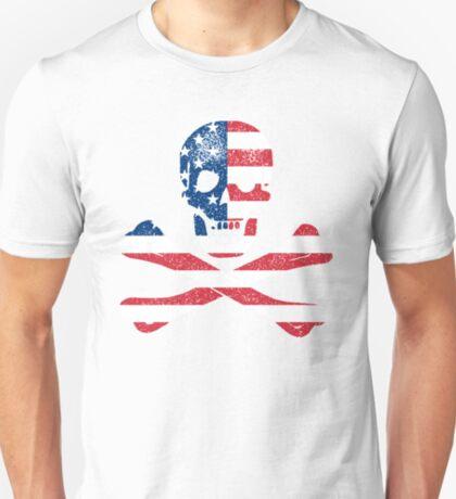 Skull and Crossbones USA T-Shirt