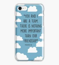 pbbyc - Mosters Inc Quote iPhone Case/Skin