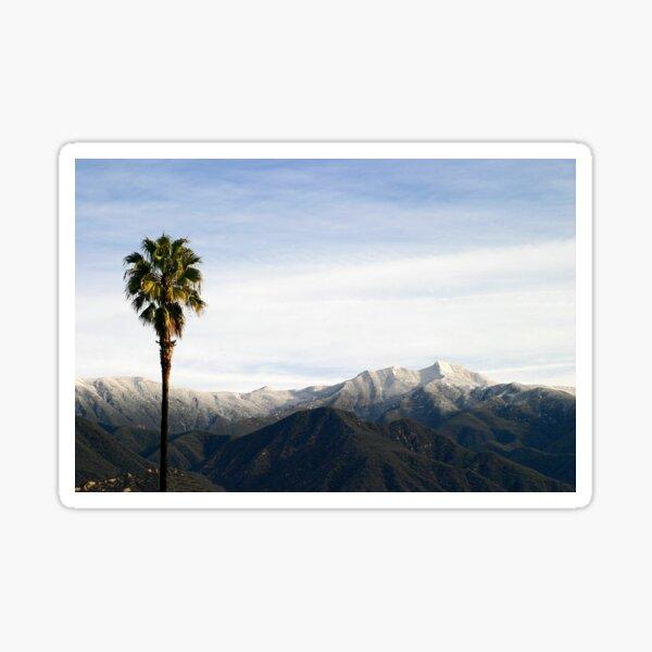 Southern California Snow Sticker