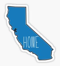 California home Sticker