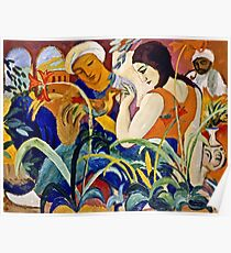 August Macke - Eastern Women  Poster