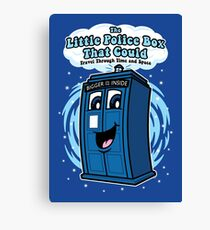 The Little Police Box Canvas Print