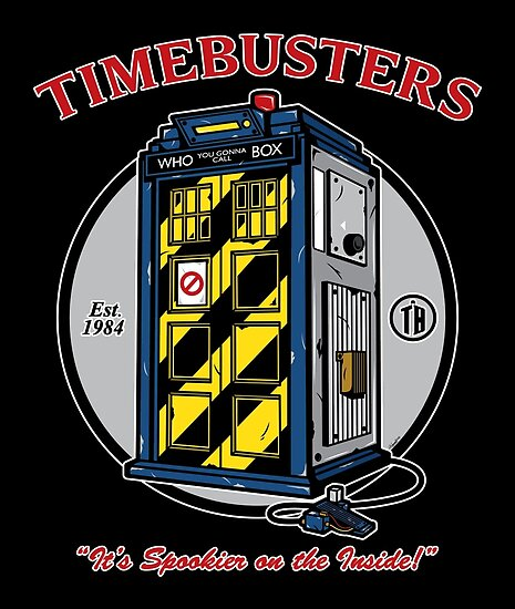 Timebusters by mikehandyart