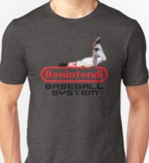 Benintendi Entertainment System (alternate) - Red Sox Unisex T-Shirt