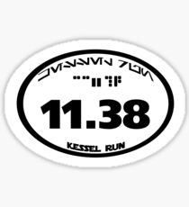 Kessel Run Sticker