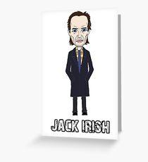 Jack Irish Greeting Card