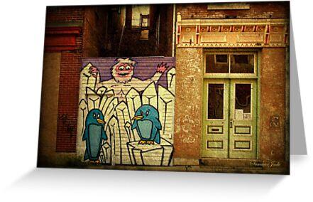 Hidden Door, Boarded Window by SummerJade