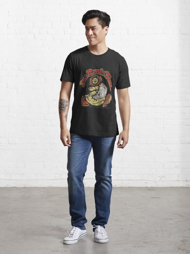 Alternate view of JUST PASSIN 'THRU 1967 VINTAGE Essential T-Shirt