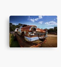 Abandoned 1957 Ford Fairlane Canvas Print