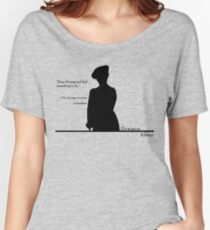 Stop whining and find something to do Women's Relaxed Fit T-Shirt