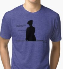 Stop whining and find something to do Tri-blend T-Shirt