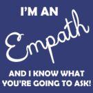 Empath light text by Deastrumquodvic