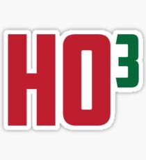 Ho Ho Ho Have A Very Nerdy Christmas Sticker