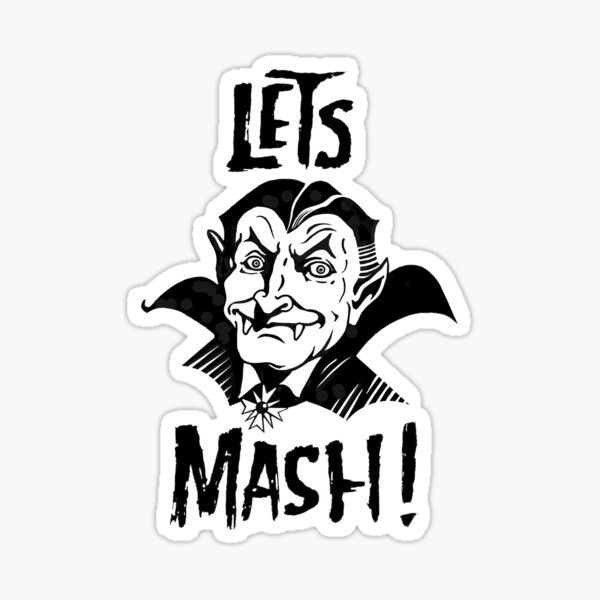 Let's Mash, Dracula Sticker