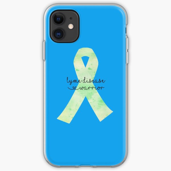 Lyme Disease Warrior iPhone Soft Case