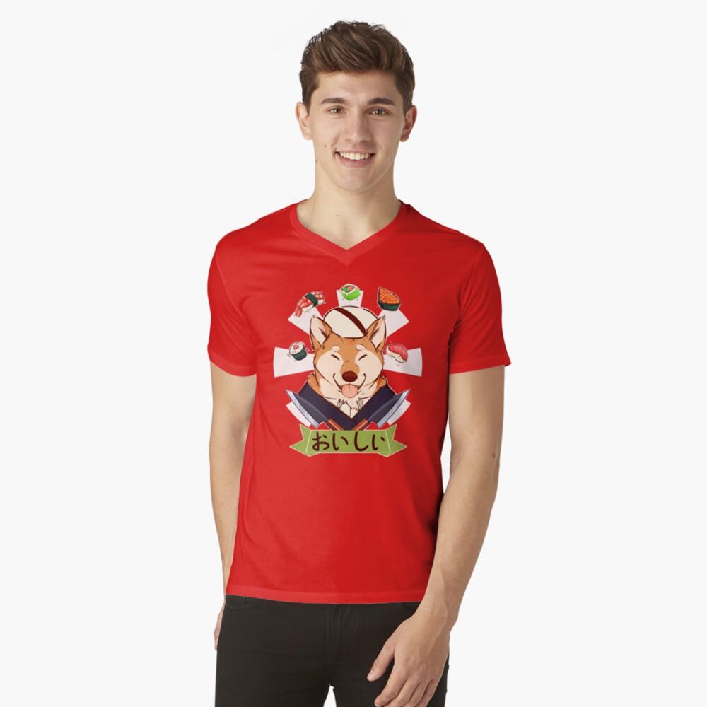 Oishī Camiseta de cuello en V