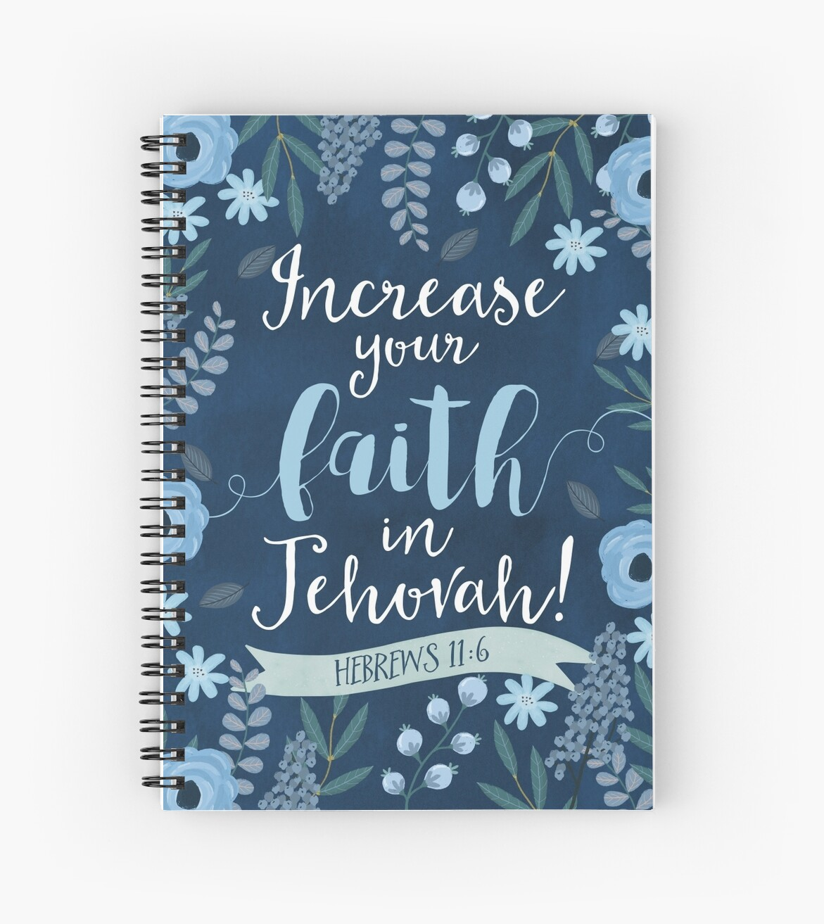Quot Increase Your Faith In Jehovah Design No 1 Quot Spiral