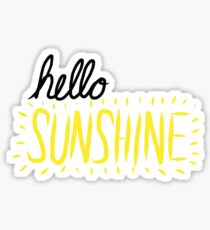 Hello Sunshine! Sticker