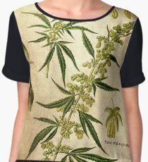 Marihuana plant Women's Chiffon Top
