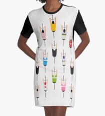 Bicycle squad Graphic T-Shirt Dress