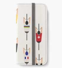 Bicycle squad iPhone Wallet/Case/Skin