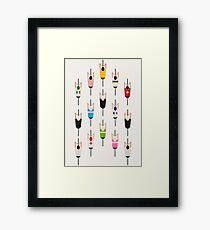 Bicycle squad Framed Print