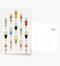 Fahrradgruppe Postkarten