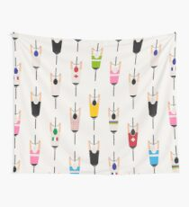 Bicycle squad Wall Tapestry