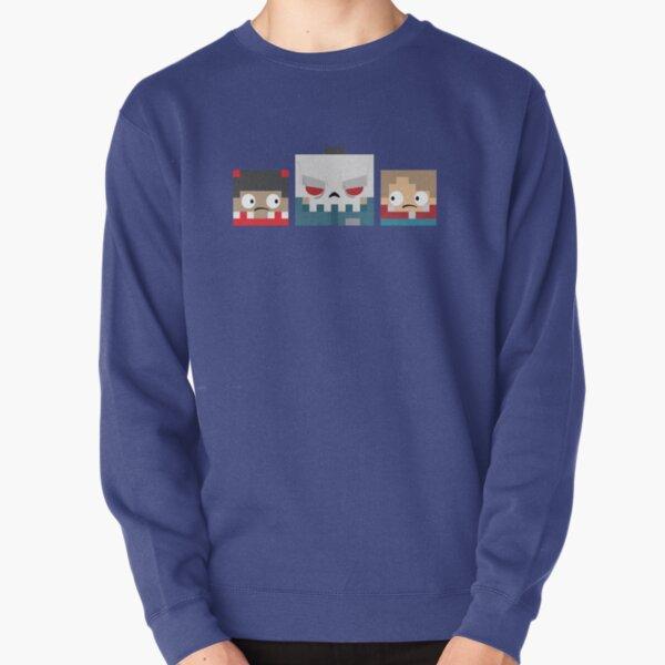 Slayaway Camp - Square Killer and Victims Pullover Sweatshirt